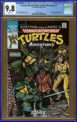 Teenage Mutant Ninja Turtles Adventures #1 CGC 9.8 (1988 Mini-Series)