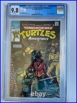 Teenage Mutant Ninja Turtles Adventures #1 CGC 9.8 1st Archie Comic 1988 TMNT
