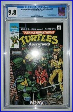 Teenage Mutant Ninja Turtles Adventures #1 (CGC 9.8) White Pages