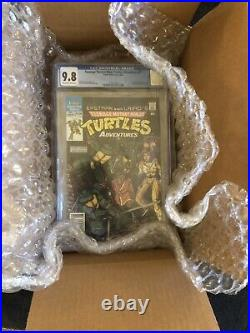 Teenage Mutant Ninja Turtles Adventures # 1 Rare Newsstand CGC 9.8 TMNT 1988