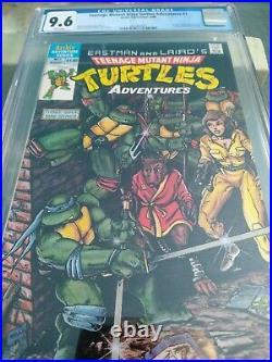 Teenage Mutant Ninja Turtles Adventures 1 cgc 9.6 Archie 1988 1st Krang Bebop RS