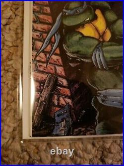 Teenage Mutant Ninja Turtles Adventures #1 lot! Signed NM+, 9.8! Also #2 & #3
