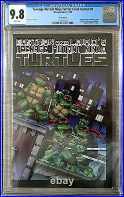 Teenage Mutant Ninja Turtles Color Special #1 CGC 9.8 Error Edition Mirage