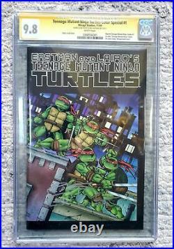 Teenage Mutant Ninja Turtles Color Special #1 TMNT CGC9.8 SS & Sketch K. Eastman
