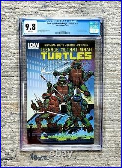 Teenage Mutant Ninja Turtles IDW #51 Cover A CGC 9.8 1st appearance Jennika TMNT