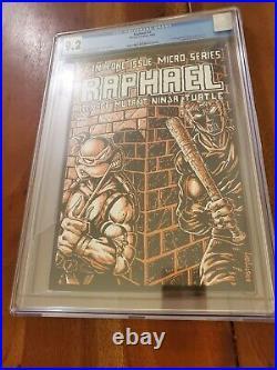 Teenage Mutant Ninja Turtles Raphael #1 1985 Mirage CGC 9.2 NM