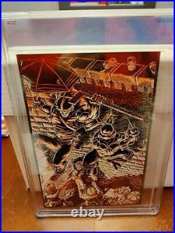 Teenage Mutant Ninja Turtles Raphael #1 CGC 9.6 1st App Casey Jones WHITE Pages