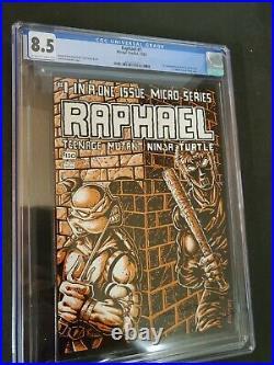 Teenage Mutant Ninja Turtles Raphael #1 Cgc 8.5 1st Casey Jones