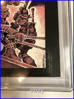 Teenage Mutant Ninja Turtles TMNT (1985) # 1 (CGC 9.6 3rd Print) 1st App Turtles