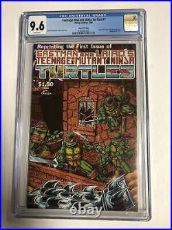 Teenage Mutant Ninja Turtles TMNT (1985) # 1 (CGC 9.6 WP) 4th Print Scarcer