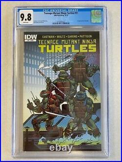 Teenage Mutant Ninja Turtles TMNT #51! CGC 9.8 1st Appearance of Jennika