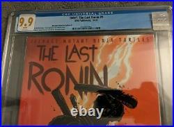 Teenage Mutant Ninja Turtles The Last Ronin #1 CGC 9.9 MINT! Retail Incentive A