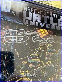 Teenage Mutant Ninja Turtles Universe 1 CGC 9.8 SS Kevin Eastman BCC