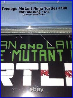 Teenage Mutants Ninja Turtles #100 Peach Momoko TMNT Variant CGC 10.0 GEM MINT
