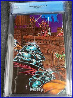 Teenage mutant ninja turtles 1 4th print CGC 9.8 White Pages