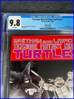 Teenage mutant ninja turtles 1 5th print CGC 9.8 White Pages
