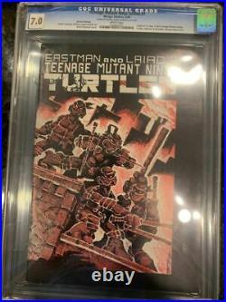 Teenage mutant ninja turtles 1 CGC 7.0 2nd Print