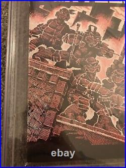 Teenage mutant ninja turtles 1 Cgc 8.0 2nd Print