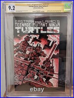 Teenage mutant ninja turtles 1 FIRST PRINT Signature Series CGC 9.2