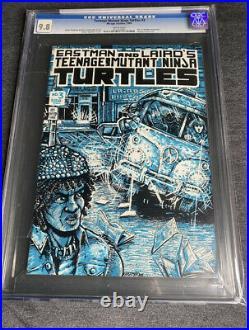 Teenage mutant ninja turtles 3 1st print CGC 9.8 WP