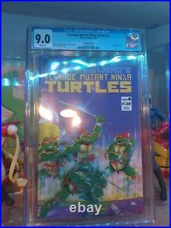 Teenage mutant ninja turtles 4 2nd print CGC 9.0