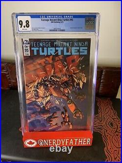 Teenage mutant ninja turtles 51/95 CGC 9.8 1st Jennika! NEW SLAB