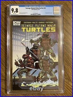 Teenage mutant ninja turtles 51 CGC 9.8 1st Jennika! NEW SLAB