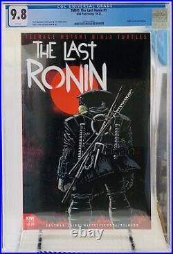 The Last Ronin 1 Teenage Mutant Ninja Turtles CGC 9.8 TMNT IDW
