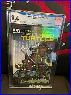 Tmnt #51 Cgc 9.4 Nm Idw Comics 2015 1st Jennika Teenage Mutant Ninja Turtles